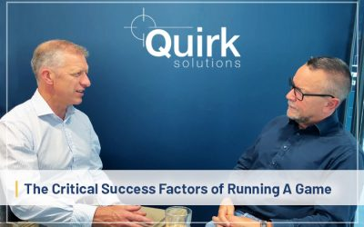 The Critical Success Factors of Running A Game
