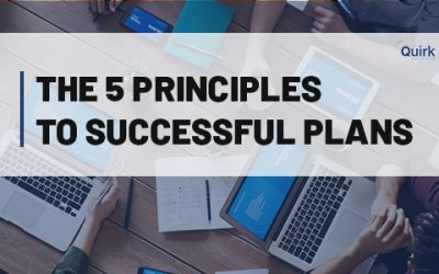 The 5 Principles to Successful Plans